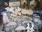 Wooden Shapes for Crafting
