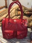 NEW Wag a Tude Designer Pet Carrier Purse Tote RED PATENT Chihuahua PETCO