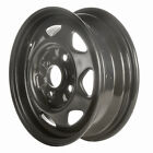 60169 Factory OEM Reconditioned Steel wheel 13 X 45 Black Full Face Painted