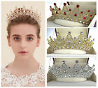 Vintage Wedding Bridal Crystal Headband Queen Crown Tiara Hair Accessories Prom