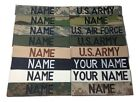 Military Custom Name Tape ACU Multicam OCP Black ABU OD Green Desert Tan