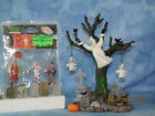 Lemax Spooky Town Graveyard Ghost  Trick or Treaters in G Scale