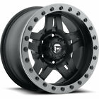 15x8 Black Fuel Anza D557 Wheels 5x55 18 Lifted CHEVROLET TRACKER