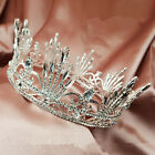 Vintage Wedding Bride crystal Queen Full Crown Headbands Tiara Hair Accessories