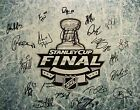 2015 CHICAGO BLACKHAWKS STANLEY CUP CHAMPIONS TEAM SIGNED PHOTO POSTER 16x20 COA