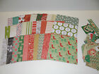 CHRISTMAS SCRAPBOOK PAPER 6X6 CARD MAKING CRAFTS VARIETY LOT