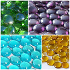 Glass Pebbles Stones Nuggets LOTS OF COLOURS  QTYS TO CHOOSE FROM