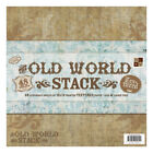 Paper Stack 12X12 48 Pkg Old World Texture Pk 1 Diecuts With A View