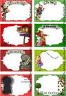 8 ALICE IN WONDERLAND CHESHIRE CAT HANG GIFT TAGS FOR SCRAPBOOK PAGES 43