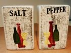 Pepper Shakers~Handpainted Wine Bottles-Made in Japan