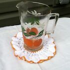 Vintage Small Anchor Hocking Juice Pitcher 5.5