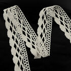5m -10yd Vintage Cotton Crochet Lace Trim Wedding Bridal Ribbon Sewing Craft New