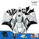 Fairing Injection Fit for Honda White Silver 2009-2012 CBR600RR ABS Plastic b015
