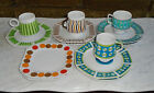 Matching Coffee Cups Set ~ Each Signed Japan