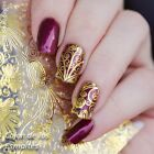 Embossed Blooming Flower 3D Nail Art Stickers Decals Decoration Manicure BP052