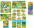 Set of 30 children JUNGLE TOYS & 6 LOOT PARTY BAGS Fillers Pinata Goddy boy girl