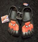 Boys Ultimate Spider man toe clogs 2 3 casual water shoes new Marvel Comics