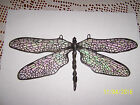 STAINED GLASS DRAGONFLY HANDMADE