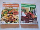2 WEIGHT WATCHERS Books 2006 POINTS Dining Out Complete Companion Books