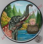 TRUMP  GOP ELEPHANT w BASKET OF DEPLORABLES POLITICAL BUTTON SIX 6 INCH