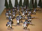 toy soldiers revolutionary war american troops x 20 54mm plastic