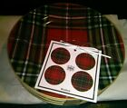 222 FIFTH Wexford  HOLIDAYS Appetizer Dessert Plates OF 4 ~NEW