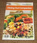 Weight Watchers DINING OUT COMPANION 111 Restaurants PB Book EUC