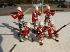 King and Country, Seaforth Highlanders shooting lot of 6 glossy, oop rare, AW
