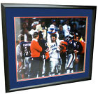 New York Giants Autographed SIGNED 16x20 Photo Carthon, Simms ,Burt ,Landetta