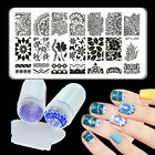 3pcs set Born Pretty Arabesque Nail Stamping Plate  Silicone Clear Stamper Set