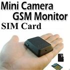 KSRplayer?X009 Mini Quadband GSM Spy Hidden Camera Audio Video Record Ear Bug +