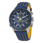 Citizen Eco Drive Blue Angels World Chronograph Mens Watch AT8020-03L