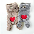 Chihuahua Teddy Dog Puppy Pet Jumpsuit Pajamas Warm Jacket Coat Clothes RE