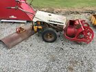 GRAVELY COMMERCIAL 10A WALK BEHIND TRACTOR WITH PLOW  SNOW BLOWER