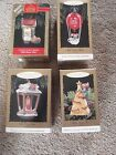 Lot Of 4.....Hallmark Keepsake Christmas Ornament.....Chris Mouse Lights