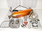100cc Big Bore Kit Performance Power Pack Gold Exhaust 139QMB Chinese Scooter