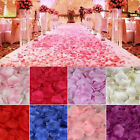 1000PCS SILK ROSE PETALS FLOWER CONFETTI WEDDING ENGAGEMENT PARTY DECORATION