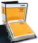 CASE 1840 UNI-LOADER SKID STEER SERVICE REPAIR MANUAL TECHNICAL SHOP BOOK BINDER