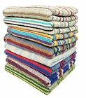 3-pack 28 inches X 57 inches 100% Cotton Bath Towels, assorted
