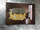 SEMI METAL FRONT BRAKE PADS FOR LINHAI Main Street 300cc (Scooter) 07-08 F