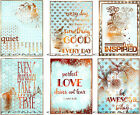 6 LARGE VALENTINES DAY LOVE HANG GIFT TAGS FOR SCRAPBOOK PAGES 30