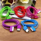 USB Charger Sync Data Cable for iPad2 3 iPhone 4 4S 3G 3GS iPod Nano Touch LU