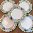 Set of 5 Mikasa Optima Casual Classics Salad Plates Fruit Rapture Y4001