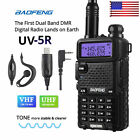 Baofeng UV-5R VHF/UHF Dual Band Two Way Ham Radio Transceiver Walkie Talkie TN
