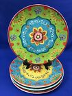 Certified International Tunisian Sunset Set of 4 Dinner Plates by Sue Zipkin #2