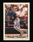 Paul Molitor Cards, Rookie Card and Autographed Memorabilia Guide 15