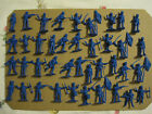 Timpo Napoleonic Lot of 40 Blue Soft Plastic Figures, Reissued Lot #2