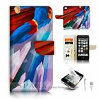 ( For iPhone 5C ) Flip Case Cover S9520 Superman