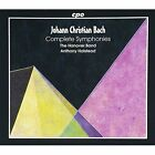 Complete Symphonies (Hanover Band - Halstead) J.C. Bach Audio CD