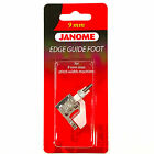 Edge Guide Foot #202100003 For Janome 9mm Max Stitch Width Machines